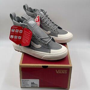 Vans Sk8 Hi MTE 2.0 DX Frost Gray Marshmallow Sneakers, Men's 5, Women's 6.5