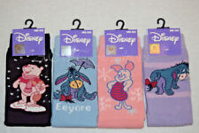 6 Pairs Ladies Winnie The Pooh Eeyore and Piglet Novelty Socks Assorted Designs