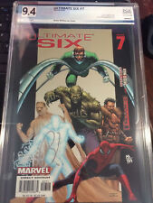 Ultimate Six #7 PGX 9.4+ Certified Autograph Graded w/COA Not CGC/CBCS Spiderman