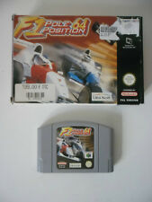 FORMULA ONE - F1 POLE POSITION 64 - NINTENDO 64 - JEU N64