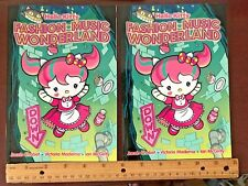 2013 Sanrio Hello Kitty Fashion Music Wonderland 2 Comic Book Lot