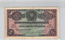Mozambique 5 Libras 15.1.1934 n° 60938 Pick R32