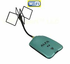 WiFi Antenna  MACH 4B ALFA N Single Biquad Booster Long Range LONG RANGE WIFI