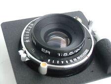 Horseman Super ER 90mm /f 5.6 lens, Seiko shutter & Horseman lensboard (130609)