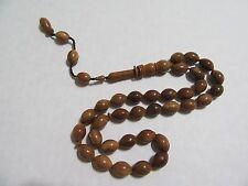 kaka coco  prayer beads- Komboloi-Tasbih-Masbah 33 bead oval