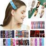 Girls Women Leopard Pattern Hair Clips Acrylic Barrette Hair Accessories Fashion