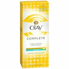 OLAY Complete All Day Moisturizer with Sunscreen SPF 30 Sensitive 2.5 OZ 3 Packs