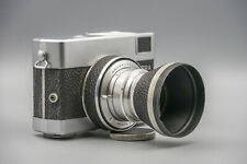 Carl Zeiss Jena Werra 1 Camera W. Jena T 2.8/50mm Tessar Lens! Functional state!