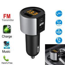 Bluetooth 5.0 FM Transmitter Auto MP3 Player KFZ 2 USB SD AUX Freisprechanlage