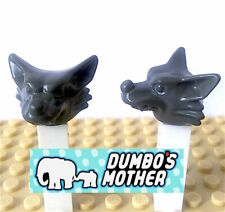 Lego WEREWOLF Wolf Head LUPIN Harry Potter 4756 Minifigure Costume