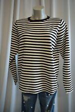 CUBUS Damen Sweatpullover Pullover XL 44  46 Schwarz-Weiß gestreift  TOP *B619