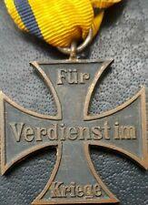 More details for ✚10565✚ german brunswick ww1 war merit cross ii. class kriegsverdienstkreuz