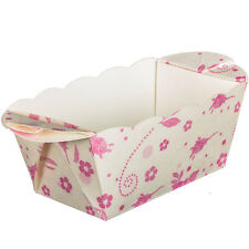 Mini Baking Moulds x10 - Floral Rose Baking Cake Backform Valentines