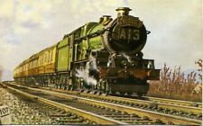 GWR King Class Capitals United Express Westerleigh GF Heiron Postcard
