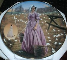 New Bradford Exchange Gone With The Wind Collectible Plate, Numbered,Nrfb