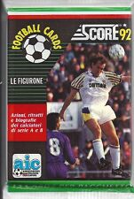 Vintage Italian Soccer-Score Football 1992-93-Eighteen Sealed Packs