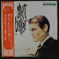 CHET BAKER: Chet Baker In New York LP (Japan, reissue, insert & obi) Jazz