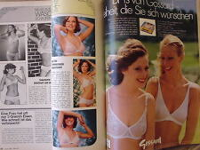 BURDA modes 1977/04 Barbie Pâques Folklore Corsage Häkel-Bikinis 70er revue
