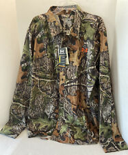 Under Armour Hunting Camo Long Sleeve Shirt Men's 3XL 1235494-940 Mossy Oak NWT