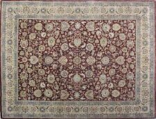 Red Persian Ziegler Style Tabriz Twist Wool Handmade Area RUGS & Carpet 8x10