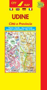 Udine Pianta Città e Provincia   Scala  1:10.000   Carta/Mappa   Belletti