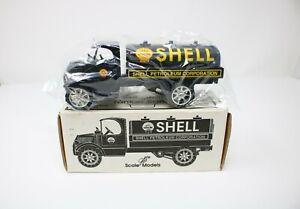 1935 Mack Tanker Locking-Bank Die-Cast Model Shell Oil Truck