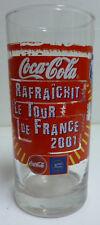 GRAND VERRE COCA COLA , TOUR DE FRANCE 2001 , CC198 *