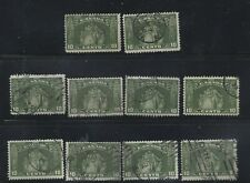 Canada 1934 Loyalists #209 10 Used Stamps Fine $60
