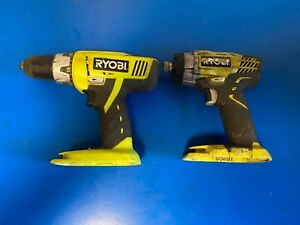 Ryobi 18VCordless  Impact driver and combi drill body only
