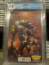 Infinity 1 CGC 9.6 Phil Jimenez Midtown Comics Variant Avengers Infinity Thanos