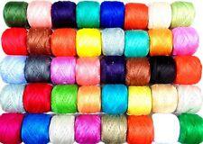 40 Anchor Ganchillo Con Hilo De Algodón Bolas Costura Bordado Diferentes Colores