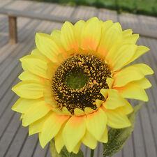 1Pc Home Garden Fence Decoration Big Artificial Sunflower Flower Perfect