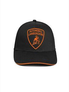 Lamborghini Fluorescent Shield Cap Black/Orange