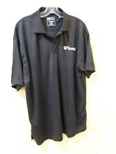 LOVE'S TRUCK STOP WORK UNIFORM BLACK POLO SHIRT SZ XL Mens ________ R18A1