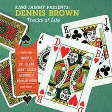 King Jammy Presents Dennis Brown Tracks of Life Audio CD