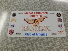 Buick Club of America license plate  NFC