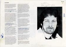 Electric Light Orchestra ELO Louis Clark Article 1988