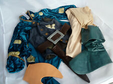 Disney Store Pirates Costume Dress Up Outfit size 3-5 years - Hook, wooden leg