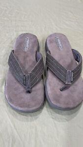 Sketchers Men's Relaxed Fit Memory Foam 360  Flip Flop Sandal Size 11