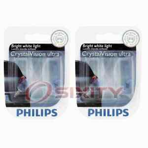 2 pc Philips License Plate Light Bulbs for Saturn Ion SW1 SW2 Vue 1993-2007 kx