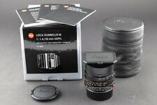 Leica M 35mm 1.4 FLE ASPH 6bit Summilux 11663 NEU FOTO-GÖRLITZ Ankauf+Verkauf