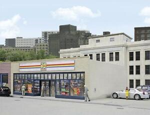 Walthers Cornerstone 533477 Échelle H0, Supermarché 24-seven, USA Train Kit 1 :