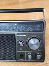 VINTAGE WORLD RADIO NATIONAL PANASONIC 4-BANDS  MW(-AM) -LW-FM -SW 1960S -1980s