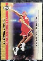 LeBron James 2003-04 Upper Deck Phenomenal Beginning GOLD Rookie RC #13 Cavs