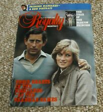 Royalty Monthly Magazine Issue No 4 October 1981. Princess Diana