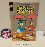 ❤VINTAGE Walt Disney Daisy & Donald Comic #38 July,1979 UNIQUE VALENTINE'S GIFT