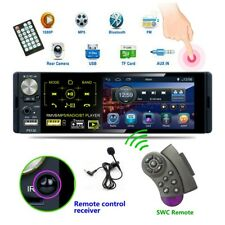 1 Din 4.1'' Car Radio MP5 Player Touch HD Capacitive Screen Bluetooth FM RDS US
