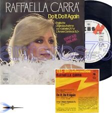 "RAFFAELLA CARRA' ""DO IT DO IT"" 45GIRI PROMO GERMANY"