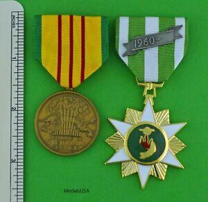 Vietnam Campaign Medal, Vietnam Service Medal -full size