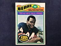 J3-47 FOOTBALL CARD - WALTER PAYTON CHICAGO BEARS - CARD #360-1977 TOPPS